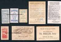1890 -1900s fishing angling women cards collection Edmondson's Wills Louit etc  FEATURED IN MY BOOK